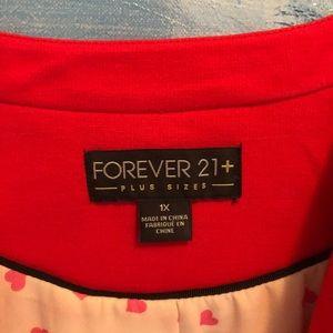 Gorgeous Cropped Red Blazer Sz 1X